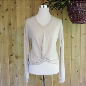 SO Soft Stretch Cream Camel muted Sweater M